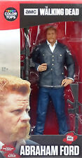 "ABRAHAM FORD 6"" /18cm THE WALKING DEAD COLOR TOPS #7 McFARLANE TOYS AMC TV SERIE"