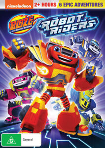 BLAZE AND THE MONSTER MACHINES: ROBOT RIDERS (2018) [NEW DVD]
