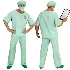 Kostüm NOTARZT 46 (S) Arzt Chirurg OP Personal Uniform Doktor Karneval #0046