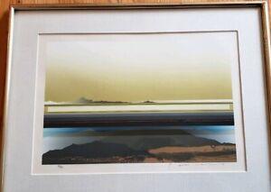 Tetsuro Sawada Silkscreen / Serigraph Signed & Numbered 1985