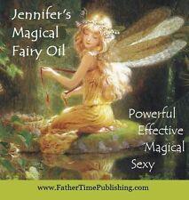 GOOD LUCK Magic Oil Jennifer's Magical Fairy Oil Brings Luck Love Sex Win Money