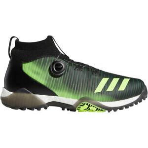 NEW Mens Adidas 2020 CODECHAOS BOA Golf Shoes Black / Green Size 15 M