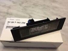 Number Plate Light LED Genuine BMW 63267193294 1 Series E81 E87 F20 F06 Z4 E89