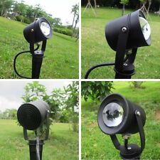 RGB 10W Led Remote Control Lawn Garden Light 12V Outdoor Waterproof Spot Light