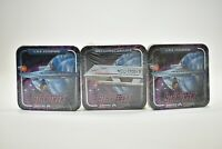 Star Trek USS Enterprise Coasters Lot of 20 in Wrapper, Vintage 1997, Galileo II