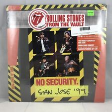 Rolling Stones - From The Vault: No Security. San Jose '99 3LP NEW Colored Vinyl
