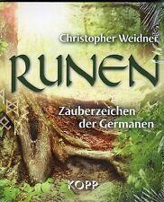 RUNEN - Zauberzeichen der Germanen - Christopher Weidner - Kopp Verlag BUCH