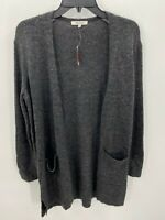 Madewell  Donegal Kent Womens Size Small Cardigan Dark Gray Sweater