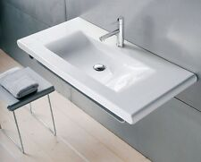 LAVABO consolle LIVING di LAUFEN 98,5x48 con porta asciugamano cromo
