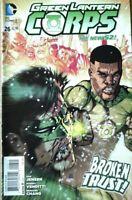 Green Lantern Corps #26 Broken Trust New 52 DC Comic 1st Print 2014 NM