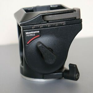 Manfrotto 701RC2 Mini Fluid Video Head with Plate