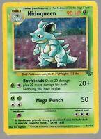 Nidoqueen - Jungle Set - 7/64 - Holo-foil Rare - Pokemon Card - (NM) Near Mint