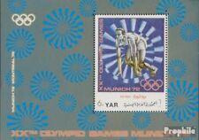 yémen du nord (arabes rep.) Bloc 175 (complète edition) neuf avec gomme original