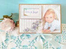 Photo Album Scrapbook Mini Album, Birthday Gift, Baby Memory Book, Premade Folio