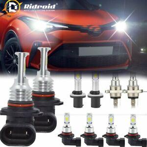 2X H4 H7 H8 H11 9005 9006 5630 LED Fog Light Lamp Driving Bulb Bulbs 6000K White