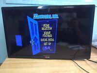 "LG Electronics 24LB451B 24"" LED/HD TV Small Gaming / Kitchen Television HDMI"