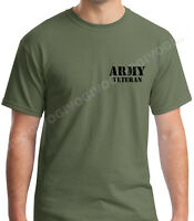Army Veteran #4 T Shirt Soldier Veteran United States Tee Short Sleeve Military