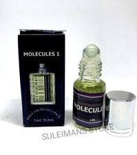 Molecules 01 - Alcohol Free Perfume Oil 3ml (0.10 oz)