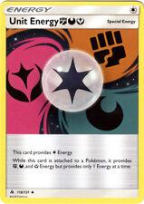 4x Pokemon SM - Forbidden Light Unit Energy FDY #118 Uncommon NM