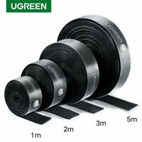Ugreen Hook Loop Tape Strap Cable Tie Fastener Self Adhesive Roll Wrap Wire Clip