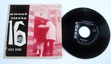 '58 R&R 45 EP CHUCK BERRY Chess 5121 Sweet Little 16 Original Mono UNPLAYED MINT