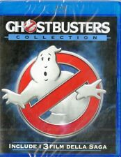 GHOSTBUSTERS  Collection - Cofanetto Con i 3 Film - BLU-RAY NUOVO