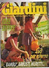 giardini --numero 58 agosto  1991  - aaabcd