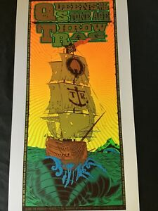 Queens of the Stone Age poster Chuck Sperry 2005 Firehouse Emek soundgarden RSD