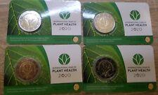 2€ conmemorativos Bélgica 2020 Sanidad vegetal coincard.Disponibles 2 versiones