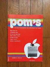 POM'S : Numéro 12 - La revue francophone des utilisateurs de l'Apple