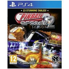 Pinball Arcade Season 2 PS4 Game - Brand New!