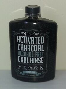 Activated Charcoal Alcohol-Free Oral Rinse Classic Mint 14.20 fl oz (420 ml)