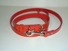 REAL LEATHER COLLAR AND LEADS SETS IN EIGHT DIFFERENT COLOURS