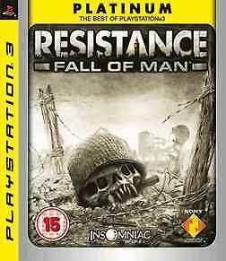 Resistance: Fall of Man (Platinum) (PS3) - USED *VGC*