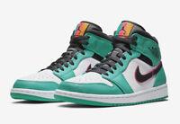 Nike Air Jordan 1 Mid SE South Beach Green Pink 852542 306 Size 4Y-13 Limited