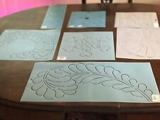 Lot Of Vintage Quilting Templates 7
