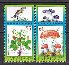 LATVIA 2009 **MNH SC# #  742 - 743  Berries and Mushrooms