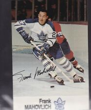 1988-89 ESSO HOCKEY FRANK MAHOVLICH MAPLE LEAFS MINT *56212