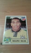 N°101 MAURO SILVA # BRASIL PANINI USA 94 WORLD CUP ORIGINAL 1994