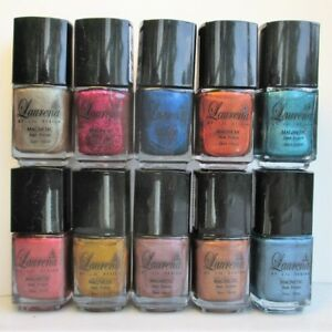 Magnetic Nail Polish: SET OF TEN DIFFERENT 18 ML Great Coverage / High Quality