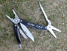 Folding Knife Survival Tools Plier Pocket Scissors Camping Fishing Multi tool
