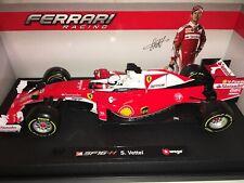 Bburago 1/18 Ferrari SF16-H Sebastian Vettel - Rouge (18-36803)