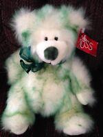 Russ Celtic Blessings Green Limerick Teddy Bear Plush Bean Bag Stuffed Animal