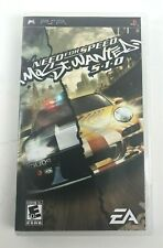 PS PlayStation PSP Game Need for Speed: Most Wanted - 5 1 0  No Manual