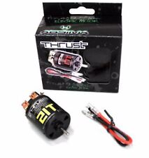 21T 21 x2 DOUBLE Turn Tuned 540 BRUSHED Motor 1/10 RC EP Electric Car for Tamiya