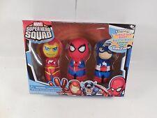 SEALED MARVEL SUPER HERO SQUAD BUBBLE BATH GIFT SET SPIDER-MAN CAPTAIN AMERICA