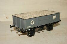 7mm O gauge KITBUILT Brass GWR Loco Coal Open Wagon Grey Livery