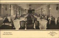 Washington DC Shoreham Hotel Rose Room c1910 Postcard