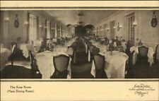 Washington DC Shoreham Hotel Rose Room c1910 Postcard