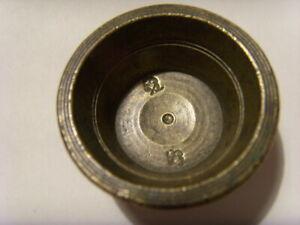 C119-Ancien poids monétaire godet (32 g), poinçon : 2 fleurs de lys, pas courant